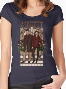 Caskett Women's Fitted Scoop T-Shirt