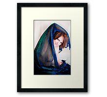 Nicole Sheer Framed Print