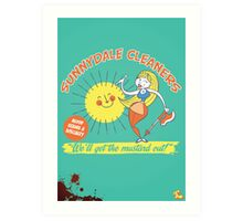 Sunnydale Cleaners Art Print