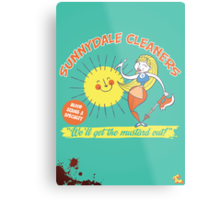 Sunnydale Cleaners Metal Print