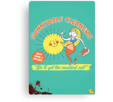 Sunnydale Cleaners Canvas Print