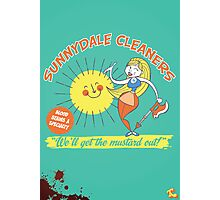 Sunnydale Cleaners Photographic Print
