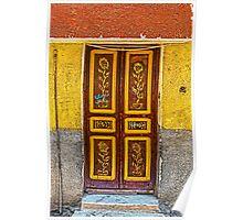 Doorway. Poster