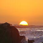 """Sunset Over The Ocean"" by Gail Jones"