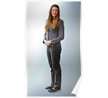Woman in a Business Suit Poster
