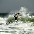 Warming Up For The Quiksilver Pro 2013 by Noel Elliot