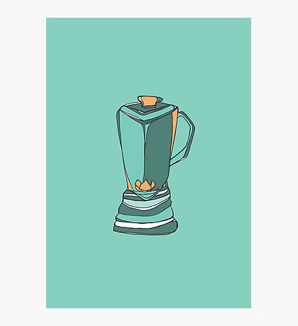 Retro Abstract Blender Photographic Print