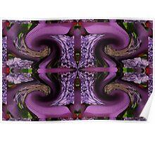 Hyacinth and Ribbons Poster