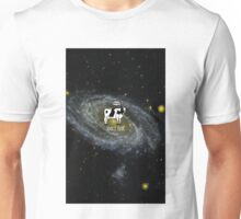 A cow become Space Junk at the Universe Unisex T-Shirt
