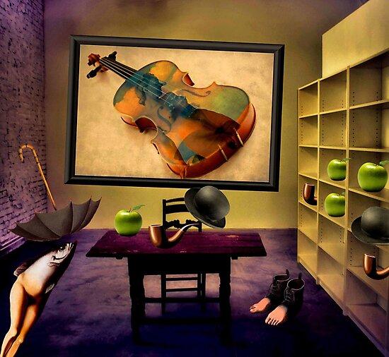 Rene's Room by SuddenJim