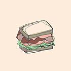 Retro Abstract Sandwich by Todd Fischer