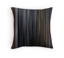 The Muppet Christmas Carol (1992) Movie Barcode Throw Pillow