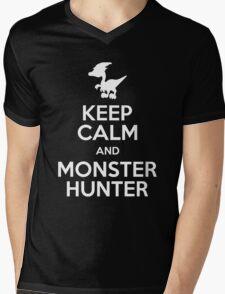 Play Monster Hunter Mens V-Neck T-Shirt