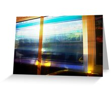 Train 04 03 13 One Greeting Card