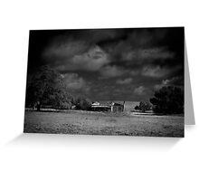 Abandoned farmstead Greeting Card