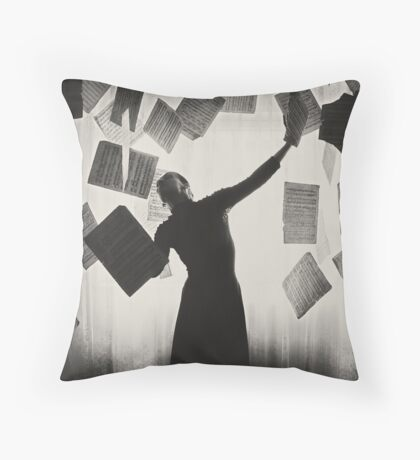 the last song (2) Throw Pillow