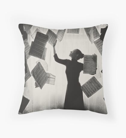 the last song (3) Throw Pillow