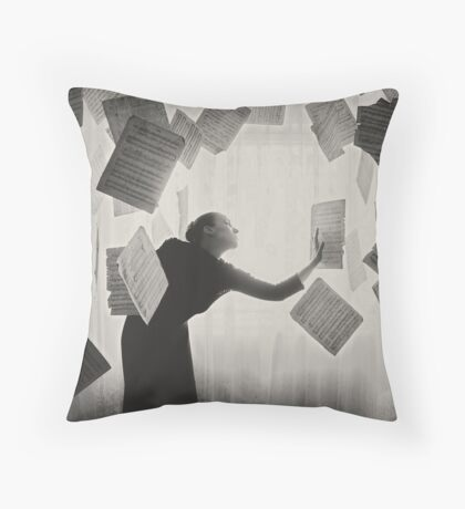 the last song (5) Throw Pillow