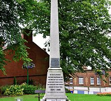 War Memorial, Belper by Rod Johnson