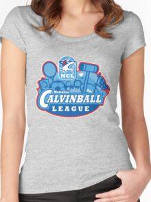 National Calvinball League Women's Fitted Scoop T-Shirt