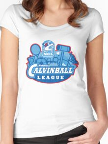 National Calvinball League Women's Fitted Scoop T-Shirt