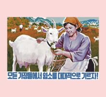 North Korean Propaganda - Goat by Tim Topping
