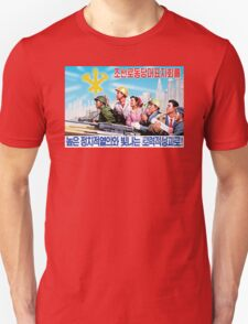 North Korean Propaganda - All Together T-Shirt