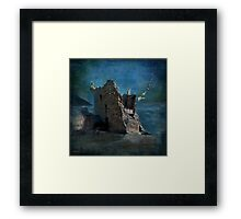 'The Castles Nighttime Secret' Framed Print
