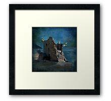 'The Castles Nighttime Secret' Framed Print
