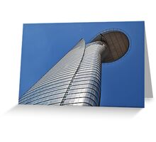 Helicopter deck Greeting Card