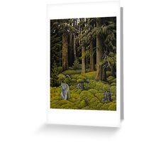 Evergreen Forest Greeting Card