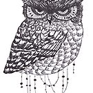 Beaded Owl by superwholock97