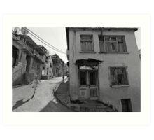 Urban Decay and Children Art Print