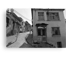 Urban Decay and Children Canvas Print