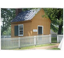 John Woodson Law Office, Appomattox Courthouse, VA Poster