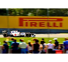 Kamui Flying in Montreal Photographic Print