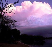 Sunset Storm by Cilinda Atkins