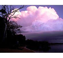 Sunset Storm Photographic Print