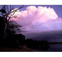 Sunset Storm Photographic Print
