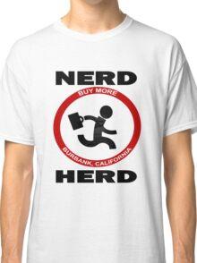 Chuck Nerd Herd Classic T-Shirt