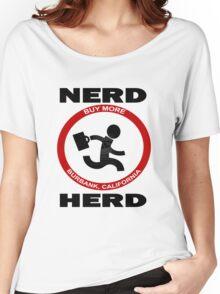 Chuck Nerd Herd Women's Relaxed Fit T-Shirt