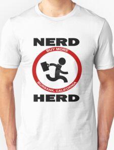 Chuck Nerd Herd Unisex T-Shirt