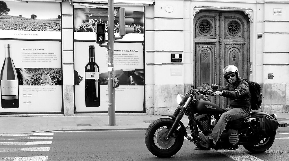 Wine .. Walk . or Ride ... by Berns