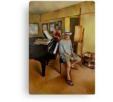 The Studio Canvas Print