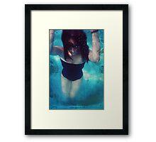 Lost in H2O Framed Print