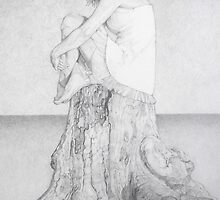 Teenage Contemplation by Cilinda Atkins