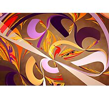 Fractal - Abstract - Space Time Photographic Print