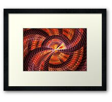 Fractal - Abstract - The Constant Framed Print