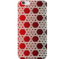 Islamic Star Red Wallpaper Pattern iPhone iPod Case iPhone Case/Skin