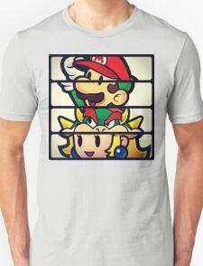 Nintendo Paper Mario Luigi Princess Bowser T-Shirt